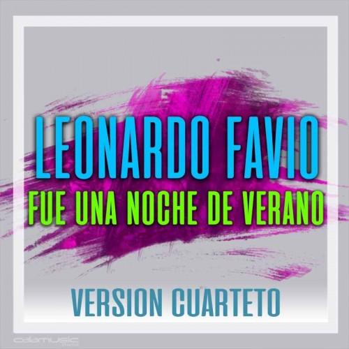 LEONARDO FAVIO - Fue una noche de verano (Version cuarteto) - Pista musical karaoke calamusic