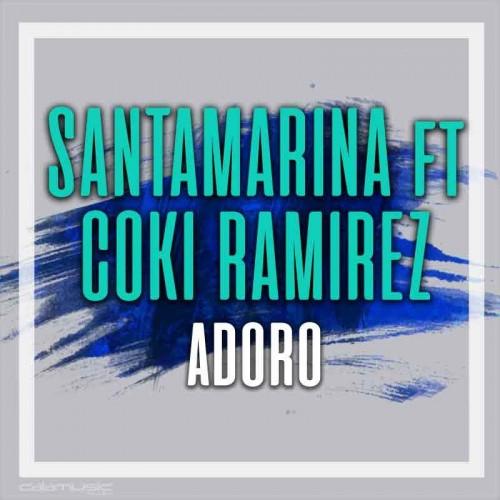 SANTAMARINA ft COKI RAMIREZ - Adoro - Pista musical karaoke calamusic